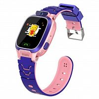 Смарт-часы EXTRADIGITAL WTC03 Pink / Purple Kids smart watch-phone (ESW2303)