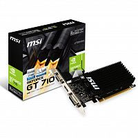 видеокарта MSI GeForce GT710 2048Mb (GT 710 2GD3H LP)