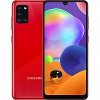 Мобильный телефон Samsung SM-A315F/64 (Galaxy A31 4/64Gb) Prism Crush Red (SM-A315FZRUSEK)