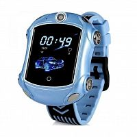 Смарт-часы GoGPS ME X01 Blue Kids watch-phone GPS (X01BL)