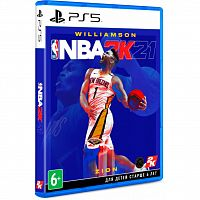 SONY NBA 2K21 [Blu-Ray диск] PS5 (5026555428798)