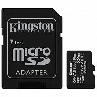 карта памяти Kingston 32GB micSDHC class 10 A1 Canvas Select Plus (SDCS2/32GB)