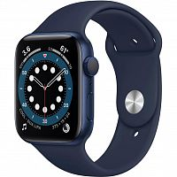 Смарт-часы Apple Watch Series 6 GPS, 40mm Blue Aluminium Case with (MG143UL/A)