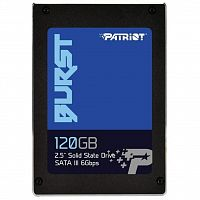 "ssd накопитель Patriot Burst 120GB 2.5"" SATAIII TLC 3D (PBU120GS25SSDR)"