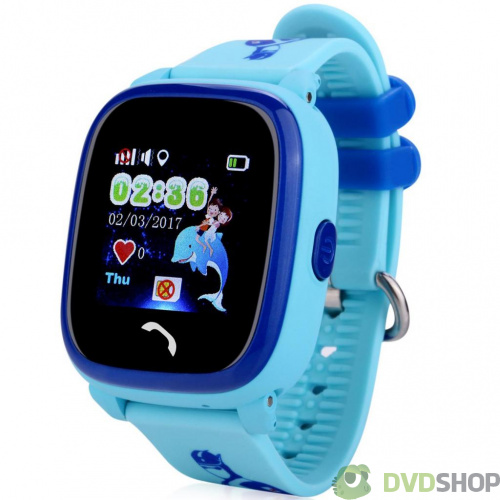 Смарт-часы UWatch DF25 Kids waterproof smart watch Blue (F_52338)