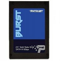 "ssd накопитель Patriot Burst 240GB 2.5"" SATAIII TLC 3D (PBU240GS25SSDR)"