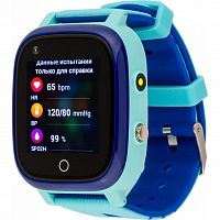 Смарт-часы AmiGo GO005 4G WIFI Kids waterproof Thermometer Blue (747017)
