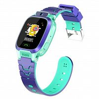 Смарт-часы EXTRADIGITAL WTC02 Green / Purple Kids smart watch-phone (ESW2302)