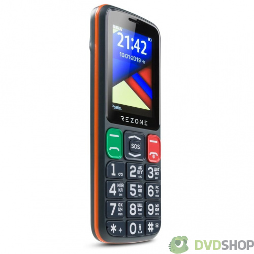 Мобильный телефон Rezone S240 Age Black Orange (S240 Age Black Orange) фото 3