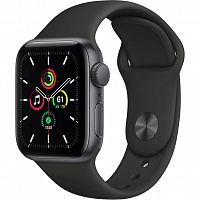 Смарт-часы Apple Watch SE GPS, 44mm Space Gray Aluminium Case with (MYDT2UL/A)
