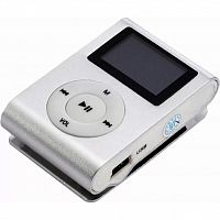 mp3 плеер TOTO With display&Earphone Mp3 Silver (TPS-02-Silver)