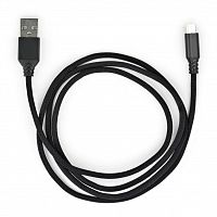 кабель для телефона Vinga USB 2.0 AM to Micro 5P nylon 1m black (VCPDCMBN21BK)