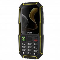 Мобильный телефон Sigma mobile X-treme ST68 Black/Yellow