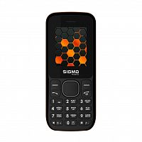 Мобильный телефон Sigma X-style 17 Update Black-Orange (4827798854532)