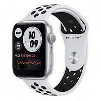 Смарт-часы Apple Watch Nike SE GPS, 40mm Silver Aluminium Case with (MYYD2UL/A)