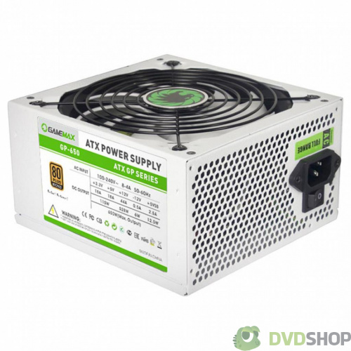 блок питания GAMEMAX 650W (GP-650-White)