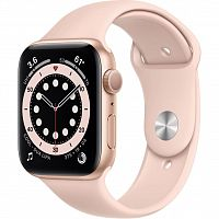 Apple Watch Series 6 GPS, 40mm Gold Aluminium Case with (MG123UL/A)