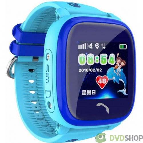 Смарт-часы UWatch DF25 Kids waterproof smart watch Blue (F_52338) фото 2