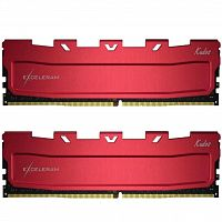 оперативная память eXceleram DDR4 16GB (2x8GB) 3200 MHz Kudos Red (EKRED4163217AD)