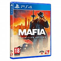 SONY Mafia Definitive Edition [PS4, Blu-Ray диск] (5026555428224)