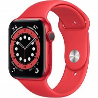 Apple Watch Series 6 GPS, 44mm PRODUCT(RED) Aluminium Ca (M00M3UL/A)