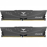 оперативная память Team DDR4 16GB (2x8GB) 3200 MHz T-Force Vulcan Z Gray (TLZGD416G3200HC16CDC01)