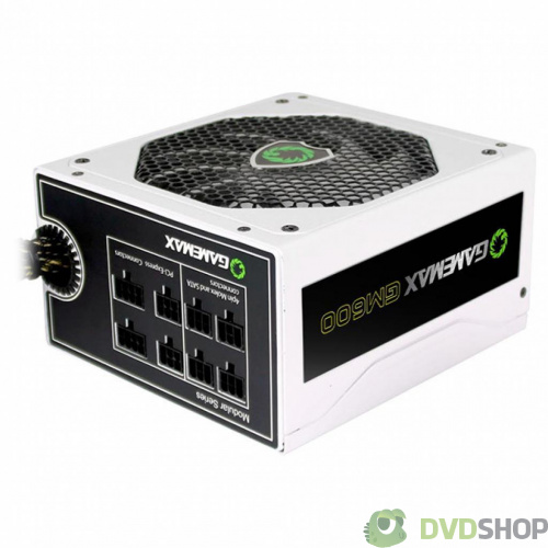 блок питания GAMEMAX 600W (GM-600-WHITE) фото 2