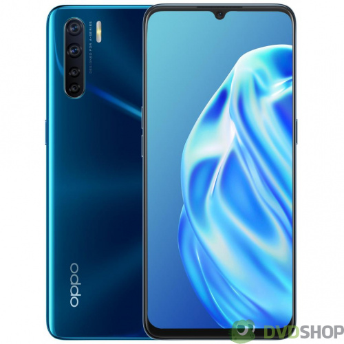 Мобильный телефон Oppo A91 8/128GB Blazing Blue (OFCPH2021_BLUE)