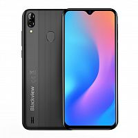 Мобильный телефон Blackview A60 Pro 3/16GB Interstellar Black (6931548305767)