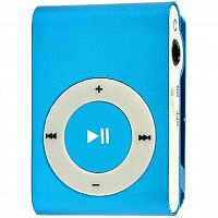 mp3 плеер TOTO Without display&Earphone Mp3 Blue (TPS-03-Blue)