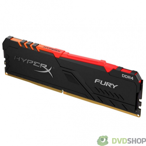 оперативная память Kingston DDR4 8GB 3600 MHz HyperX Fury RGB (HX436C17FB3A/8) фото 2