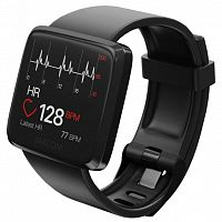 Смарт-часы JAKCOM H1 Smart Health Watch GPS black с пульсометром и м (swpadjh1b)