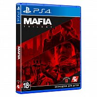 SONY Mafia Trilogy [PS4, Blu-Ray диск] (5026555428347)