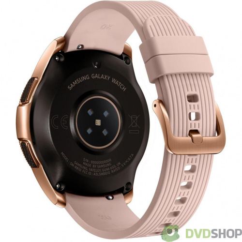 Смарт-часы Samsung SM-R810 Galaxy Watch 42mm Gold (SM-R810NZDASEK) фото 4