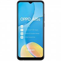 Мобильный телефон Oppo A15s 4/64GB Dynamic Black (OFCPH2179_BLACK_4/64)